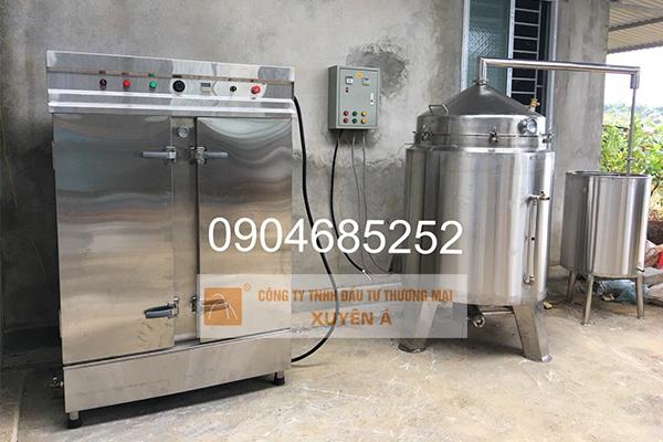 Tủ nấu cơm công nghiệp sản phẩm rất cần thiết cho các cơ sở sản xuất rượu, nhà hàng, khách sạn