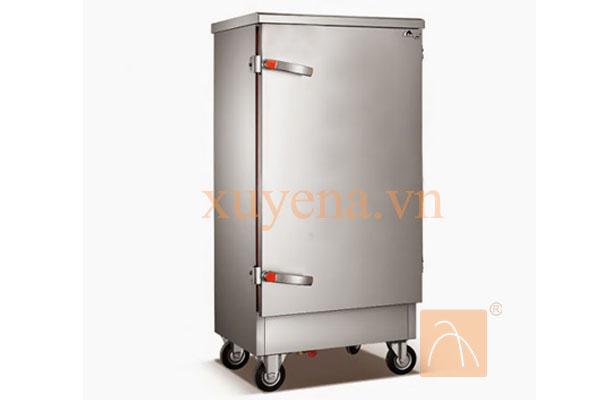 Tủ nấu cơm, hấp cơm hấp giò chả 12 khay dùng điện