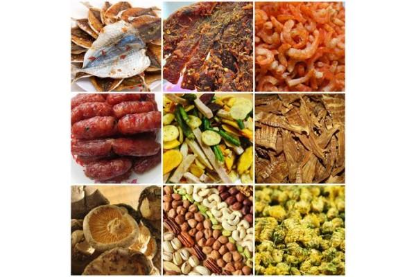 Máy sấy thực phẩm, dược phẩm, nông sản giữ nguyên hương vị và màu sắc