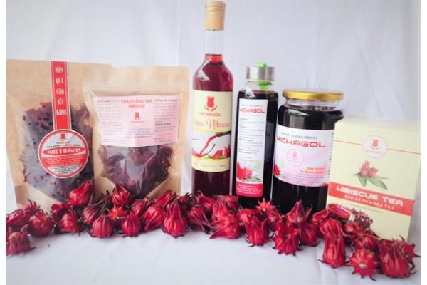 Quy trình làm rượu vang Hibiscus, rượu vang Atiso đỏ và đóng chai
