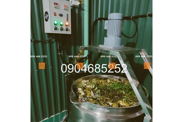Dây chuyền điều chế, sản xuất dầu gội dược liệu thiên nhiên