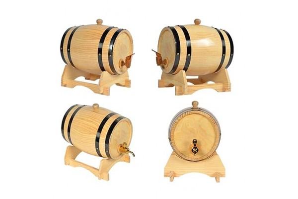 Thùng gỗ sồi ngâm ủ rượu