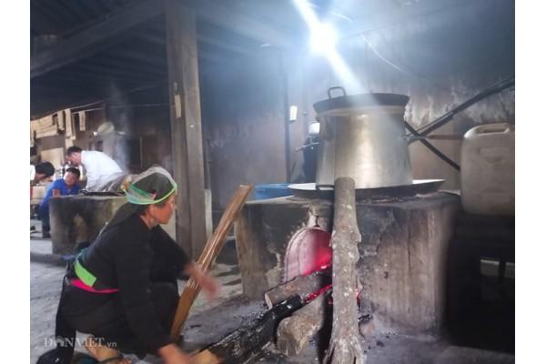 Cách nấu rượu siêu men của người thái ở Nghệ An