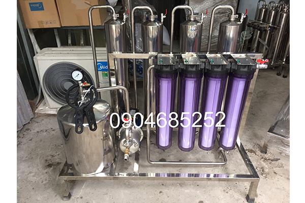 máy lọc rượu 2 đơn nguyên công suất 200-300lit/h